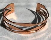Renoir Copper Cuff Bracelet