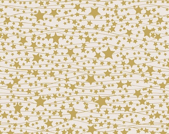 Fabric by the Yard- Little Town--Twinkle Stars- by Amy Sinibaldi for Art Gallery Fabrics