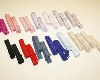 "15mm Detachable Bra Straps 13.5"" Long"