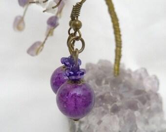 Eternal roses earrings