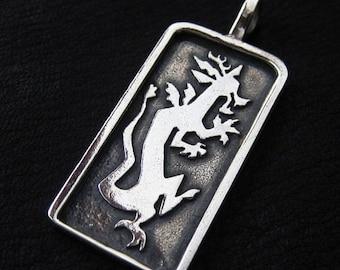 Silver Discord pendant