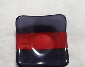 Fused Glass Small Mesa Dish