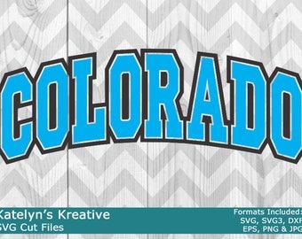 Colorado Arched SVG Files