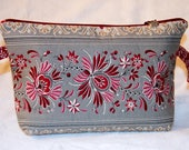 Rosemaling...wedge bag