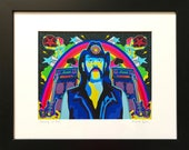 Lemmy Is God Giclee Print by Grande Dame