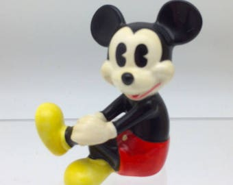 Ceramic Mickey Mouse Etsy