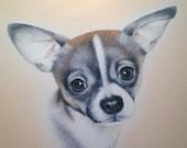 Custom DOG Portrait, Color Pastel Dog Portrait, Pastel Drawing, Dog, Cat, Pet, Custom Pet Portrait, Fasmily Gift, Different sizes Available