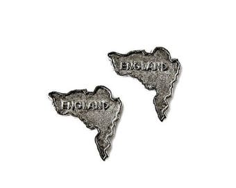 Limited Time Offer England Cufflinks - Gifts for Men - Anniversary Gift - Handmade - Gift Box Included