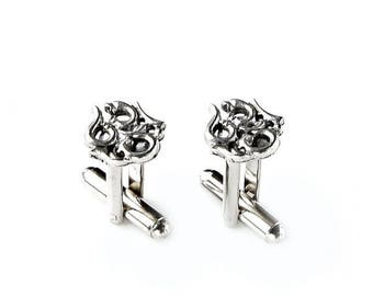 Limited Time Offer Ohm Cufflinks - Gifts for Men - Anniversary Gift - Handmade - Gift Box Included