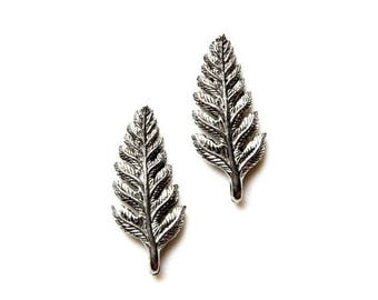 Limited Time Offer Fern Cufflinks - Gifts for Men - Anniversary Gift - Handmade - Gift Box Included