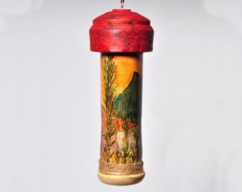 Hummingbird House - Painted - 4