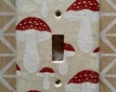 Mushroom Switch Plate