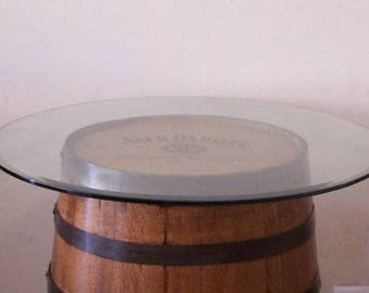 """Add a 36"""" GlassTop to your Whiskey Barrel-FREE SHIPPING"""