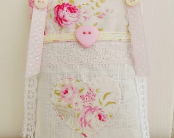 Shabby & Chic Lavender Sachet/Home Decor