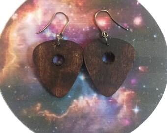 planchette earrings, ouija board, spirit board, Wiccan