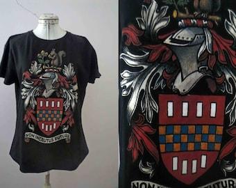 Robert E Lee Family Crest T shirt Medium Womens