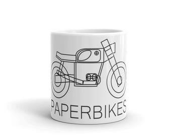 Paperbikes V201 aka BMW r90 Mug