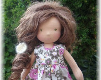 JUNE 2018 - Custom Waldorf  Doll Deposit for 11, 13 inches doll