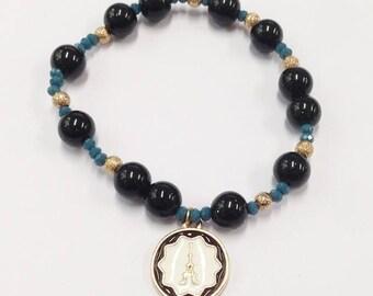 French theme bracelet Eiffel Tower kawaii bracelet women present for mom birthday gift for her beaded bracelet girlfriend gift