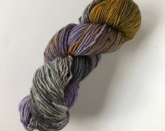 one of a special - Hand Dyed Yarn - Single But Not Lonely DK - 100% Superwash Single Ply Merino -  {one of a special}