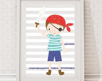 Pirate Adventure Print