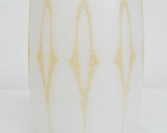 Mid Century Glass Lampshade