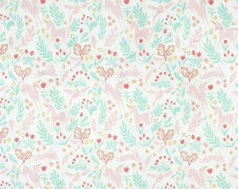 MINKY - Magic! Folk on White from Michael Miller Fabrics by Sarah Jane's Magic! Collection
