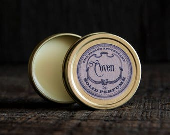 Solid Perfume Oil Tin- Choose your Scent- 5g (.15 oz)