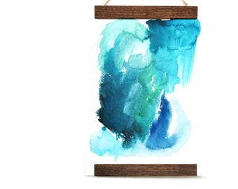 Original Abstract Watercolor Painting