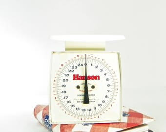 1970's Hanson Kitchen Scale,  Retro Scale