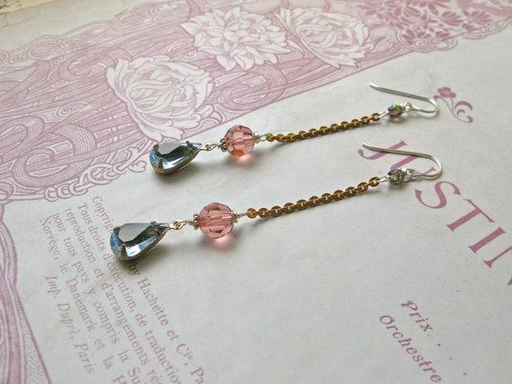 Mitzi Rosée earrings...