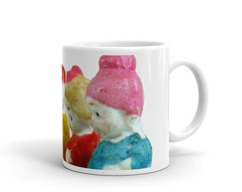 Coffee Cup, Vintage Bisque Kids