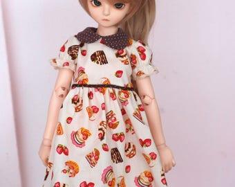 MSD Strawberry shortcakes cotton dress