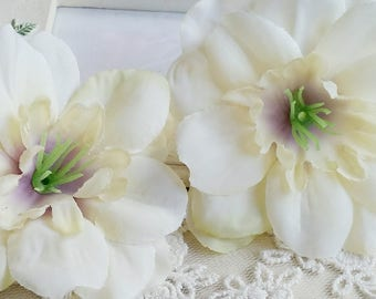 7 cm Forest Series Delphinium grandiflorum Silk Flower/wedding/ Flower Wreath /Flower Bouquet /wedding /Artificial Flowers Findings (.n)