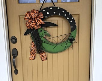 Halloween Witch Door Hanging