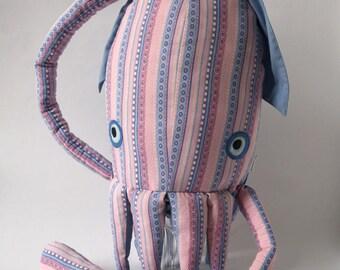 giant squid stuffed animal eco-friendly
