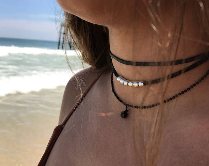 Necklace wrap, Bead Necklace, boho jewelry, bohemian jewelry,leather jewelry,women jewelry,wrap necklace, boho necklace, bohemian necklace