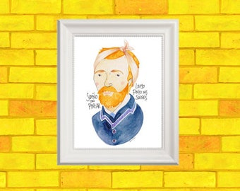 Vincent VanGogh Print
