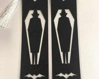Black Vampire Bookmark