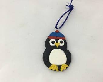 Penguin gift tag/ Christmas decoration
