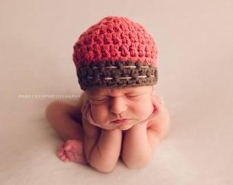 Newborn boy hat, boys winter hat, baby boy hat, baby hat, boys hat,  crochet boys hat, little boys hat, baby boy hat, crochet hat, boy hat