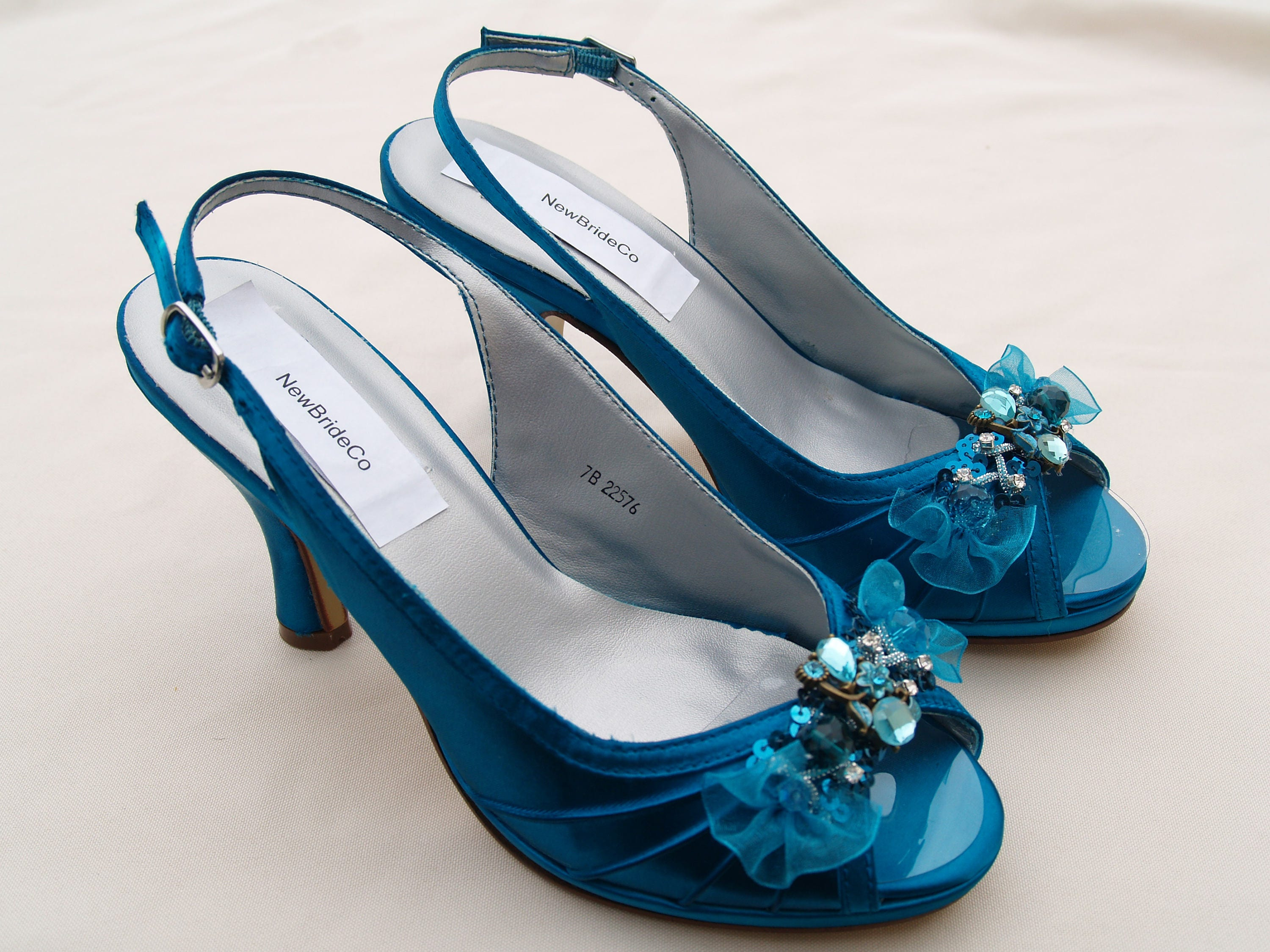 Teal Wedding Shoes 021 - Teal Wedding Shoes