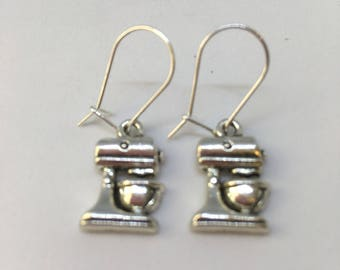 Food Mixer Earrings for pierced ears-Gifts for women-Gifts for her-Gifts for Cooks-Cooks Gift-Gift for people who love to cook