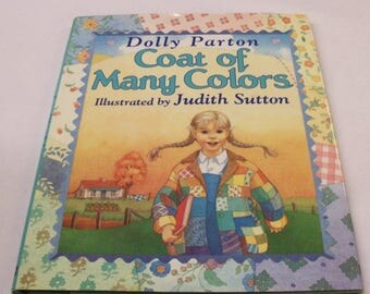 First Edition Coat of Many Colors Dolly Parton Story