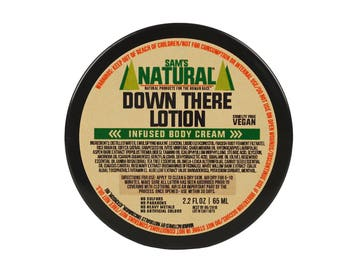 Sam's Natural - Down There Lotion - Gifts - Natural, Vegan + Cruelty-Free