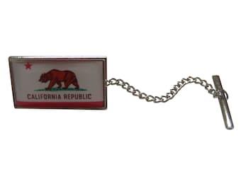 California State Flag Tie Tack