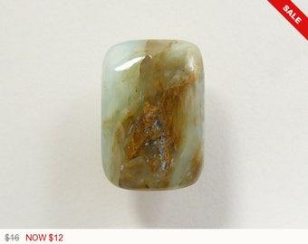Peruvian Opal Cabochon, designer cabochon, gemstone cabochons, flat back cabochons, natural stone cabochons, loose cabochons (po6261)