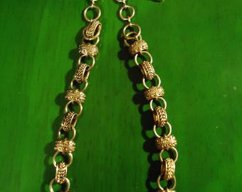 Vintage Circa 1993 Gold Chain Links Necklace