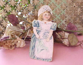Sweet Victorian Era Stand Up Trade Card for Worcester Salt Co. New York
