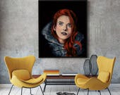 Ygritte Painting- Game of Thrones - Fine Art Print - Multiple Sizes